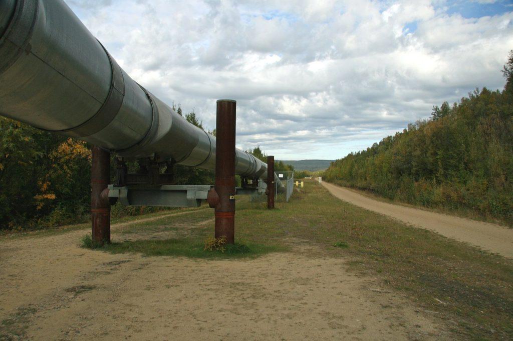 LNG terminal plinovod